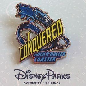 Disney Parks Rock N' Rollercoaster Pin